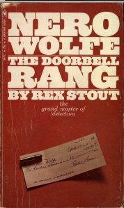 The Doorbell Rang - October 1971 - Third Printing - Front Cover