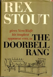 Rex Stout - The Doorbell Rang Front Cover 1965 First Edition Third Printing